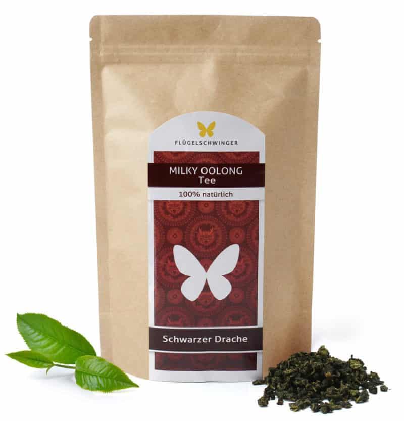 Milky Oolong - Schwarzer Drache Tee