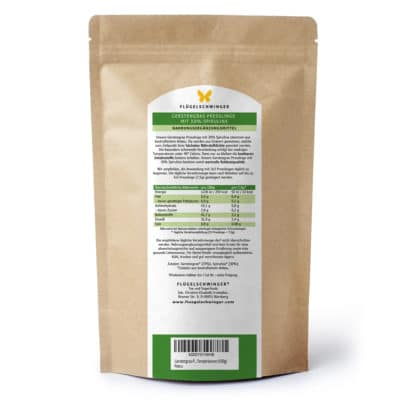Gerstengraspresslinge mit 30% Spirulina